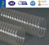 PUの鋼鉄コードが付いている適用範囲が広いダクティングのホースのウレタンのホースポリウレタン管PUダクト