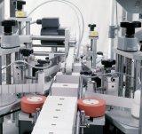 Double bouteille latérale simple de côtés étiquetant, machine à étiquettes de bouteille ronde
