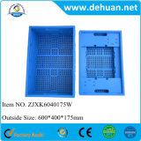 Caja de almacenamiento de plástico plegable / contenedor de comida de plástico