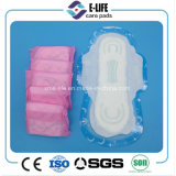 Serviette hygiénique bon marché de coton/essuie-main sanitaire de maille