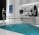 Señoras bajo soporte de visualización del desgaste para la alameda de compras