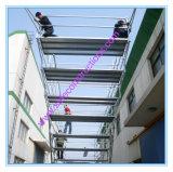 Système en acier approuvé sûr d'échafaudage de GV pour la décoration
