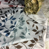 100 % Poly linge chaud comme motif jacquard rideau de fenêtre textile souple