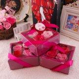 Flor artificial del jabón de la flor promocional de Rose