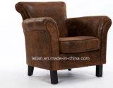 Presidenza del sofà del cuoio della mobilia del sofà di disegno moderno singola (LL-BC081)