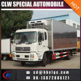 China 10t Alumínio Allpy Carrier Refrigeration Unit Truck Freezer Truck Body
