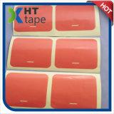 Le double rouge d'animal familier de doublure de film de température élevée a dégrossi bande