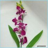 Orquídea falsa barata de seda de las flores artificiales para la decoración casera de la boda
