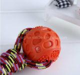 Alimentación de animales de compañía perro cuerda juguete (KT0018)