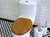Écologique et confortable, Bois de Bambou toilettes Ensemble housse de siège