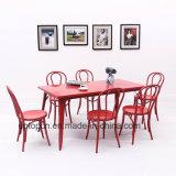 (SP-CT776) раунда назад стул обеденный стол, ресторан Кафе мебель