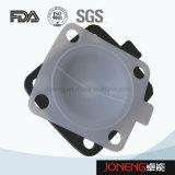 Soupape à diaphragme pneumatique de bas de réservoir d'acier inoxydable (JN-DV1015)