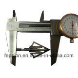精密鋳造のミシンの針