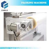 가득 차있는 스테인리스 음식 감싸기 쟁반 밀봉 포장 기계