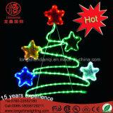 LEIDENE van de Leverancier van de vakantie Licht van het Lichte het 2D Motief van de Kerstboom voor Binnen en OpenluchtDecoratie