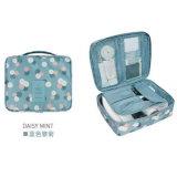 Bolso portable práctico del almacenaje del bolso de la colada del acabamiento del bolso del recorrido del bolso de la impresión del bolso mayor del maquillaje