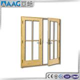 Europäische Art-Aluminiumflügelfenster-Tür mit Dekoration-Gitter