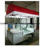 Carros do gelado de consoles de cozinheiro para a venda B4