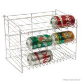 Einfacher Entwurfs-Metall kann Bildschirmanzeige-Zahnstange für Supermarkt-Ausgangsgebrauch