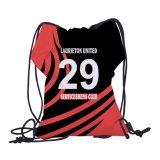 600dポリエステルチーム応援バッグスリングバックバッグ巾着ポーチ