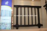 Haohan 고품질 장식적인 직류 전기를 통한 강철 Alluminum 합금 발코니 난간 36
