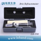 Vente chaude 0-80 en réfractomètre à main basse prix Brix (LH-T80)