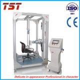 Cadeira de escritório assento e costas de teste de resistência e durabilidade