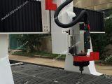CNC do ATC 3D que cinzela a máquina para o alumínio de madeira da espuma