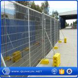 Caldo tuffato affitto di recinzione provvisorio rivestito del PVC e galvanizzata