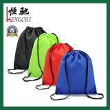 Многоцветный полиэстер кулиской рюкзак сумки для покупок