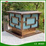 Wasserdichtes klassisches hochwertiges im Freien dekoratives Solarpfosten-Großhandelslicht, Solarzaun-Pfosten-Licht-Gatter für Garten