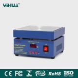 Yihua 946b de la placa calefactora plana de microcomputadoras, BGA de la estación de precalentamiento