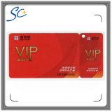 Cartão do PVC de Unstandard para a promoção do negócio