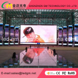 Alta Qualidade LED Aluguer Billboard Digital Advertising Screen Display-P3 eletrônico
