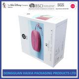 Caja de cartón del grado del Fsc para los regalos del receptor de cabeza de Bluetooth