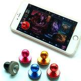Palanca de mando del eje de balancín del juego del palillo de la aleación de aluminio del color para el teléfono elegante de la pantalla táctil del iPad del iPhone