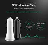 5V 2.4Aの互換性がある速い電話料金2.0速く二重USBのポートの携帯電話車の充電器