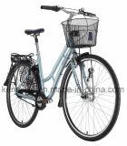 bici clásica de 7 de la velocidad inter del nexo 700c muchachas con la bici holandesa de la ciudad de la bici de Oma de la cesta