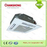 Kassette gekühlte Ventilator-Ring-Geräten-Klimaanlage des Wasser-4-Way