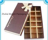 발렌타인 초콜렛 상자 또는 선물 종이상자 또는 절묘한 초코렛 음식 상자 패킹