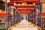 Ce industriale selettivo di racking del pallet di memoria del magazzino resistente approvato