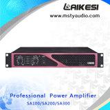 Профессиональные 1u усилитель мощности SA300 300 Вт усилитель звука