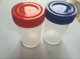 Les récipients pour échantillons avec les couvercles des contenants de laboratoire