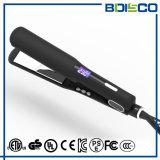 Ce&FCC aprovou o Straightener largo liso iónico do ferro do cabelo da placa do LCD
