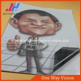 Visione unidirezionale del rullo del vinile dei materiali di stampa per UV