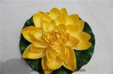 Fabrik-künstliche Schaumgummi-Lotos-Blumen-sich hin- und herbewegende Lotos-Großhandelsblumen für Verkauf