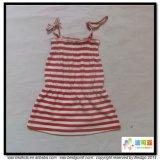 Stripe Printing Baby Wear Gots Robe de vêtements pour bébés