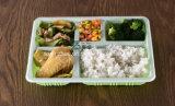 O compartimento 5 engrossa a bandeja plástica descartável de gama alta do alimento