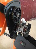電動機を搭載する120Lコンクリートミキサー車