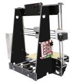 2017年のアネット新しいPrusa歯科3DプリンターフィラメントはプラスチックサポートPLAのABS、ナイロン、パソコン、かいま見、サポートで印字機の価格を分ける